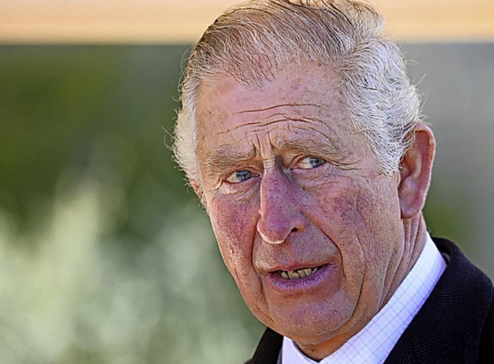 Prinz Charles hat sich infiziert.  | Foto: Chris Jackson (dpa)