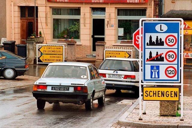 25 Jahre Schengener Abkommen: Die Party fällt aus