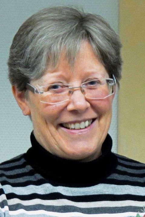 Beate Fuchs, Geschäftsführerin der Kirchlichen Sozialstation Markgräflerland  | Foto: Jutta Schütz