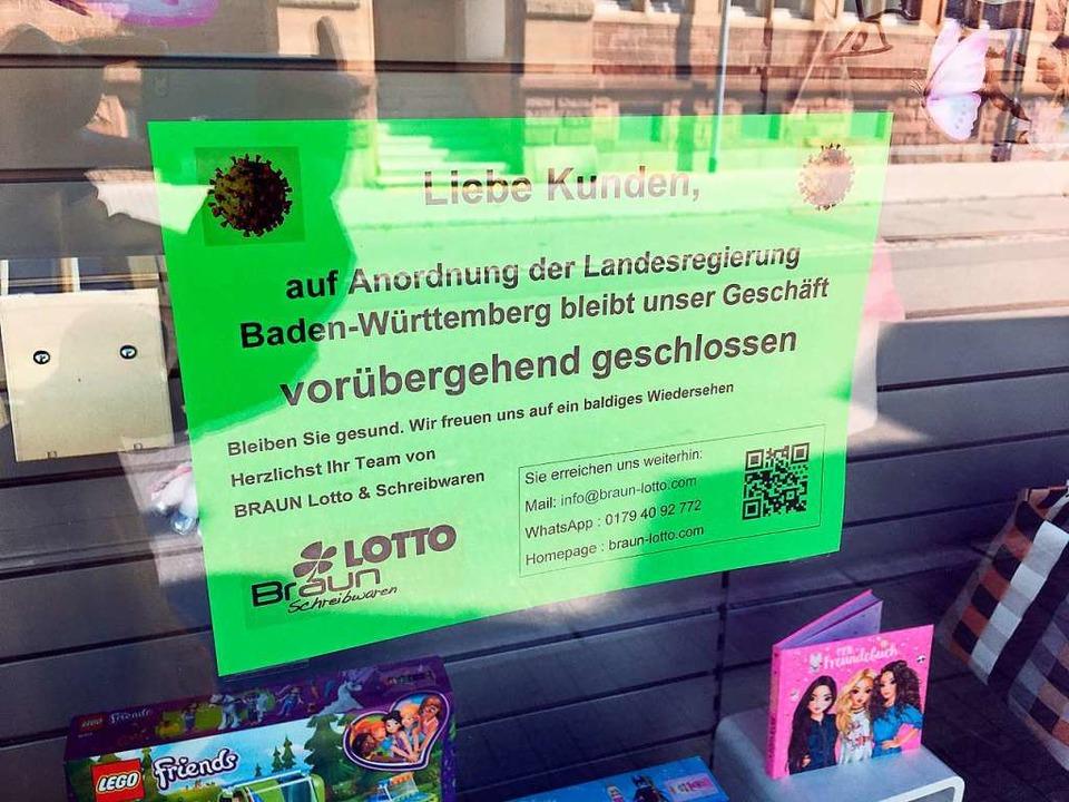 Zahlreiche Läden haben in Grenzach-Wyhlen geschlossen.