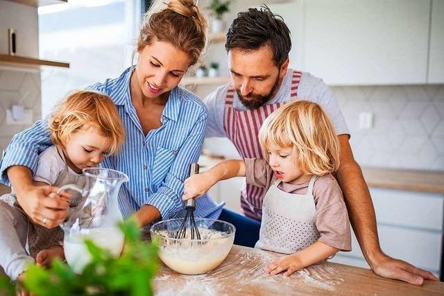 Kochen mit Kindern – So wird's ein Spaß für Groß und Klein