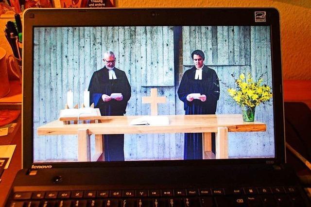 Evangelische Pfarrer aus Stegen und Kirchzarten predigen auf Youtube