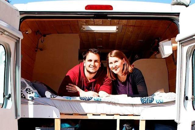 Paar aus Schluchsee kündigt Jobs für Europatour im Van – dann kam Corona