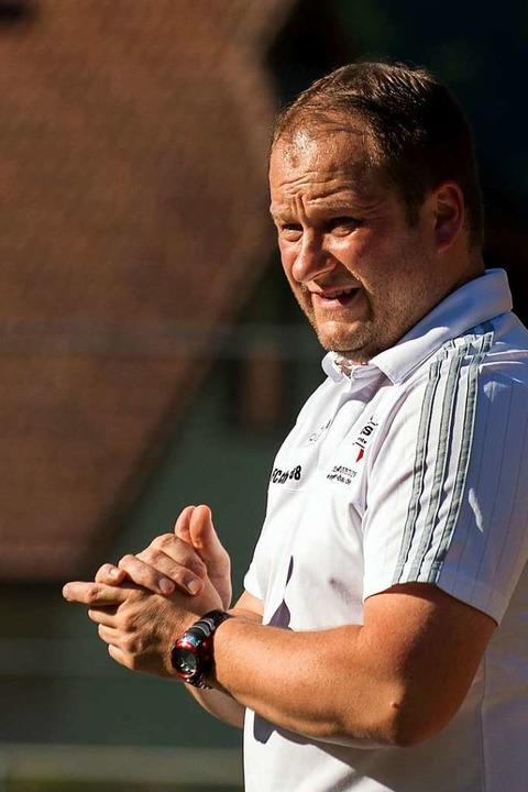 """""""Bodenständiger Verein mit klare...eiko Günther wechselt nach Au-Wittnau.    Foto: Markus Schächtele"""