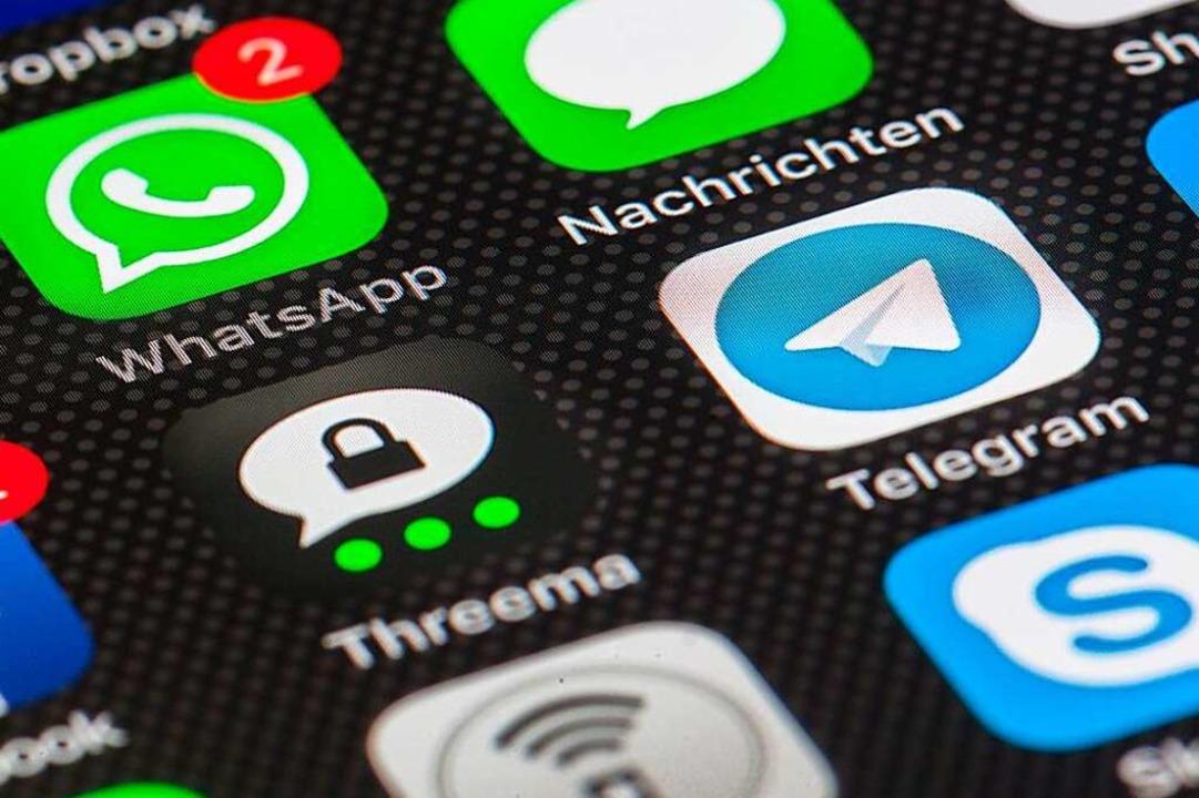 Einige Bürgermeister sprechen sich per App ab.    Foto: everphone (dpa)