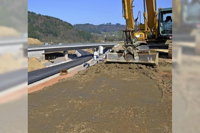 B 294: Der Straßenbau geht ungestört weiter