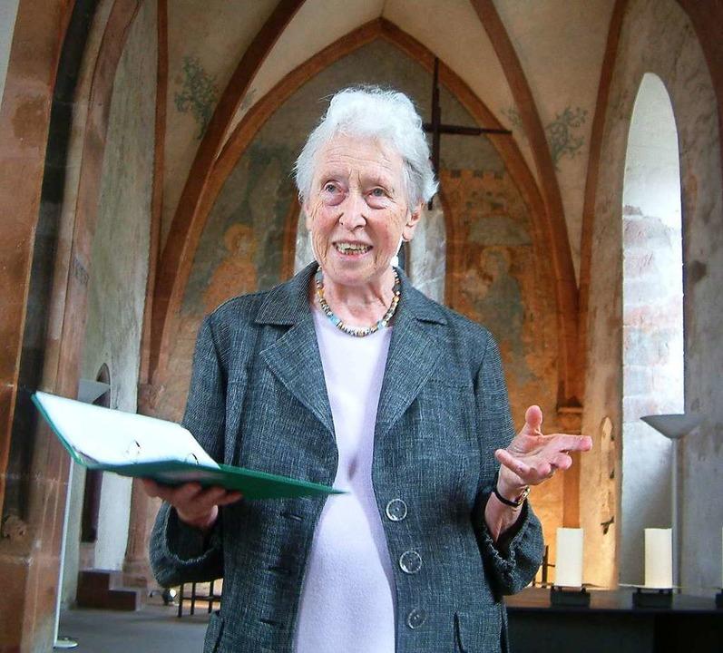Inge Nestle  ist im Alter von 85 Jahren gestorben  | Foto: Roswitha Frey
