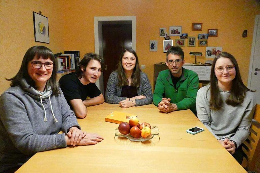 Die Familie Bartelmus steht wohl exemp...isa, Christian und Caroline Bartelmus.    Foto: Lisa Bartelmus