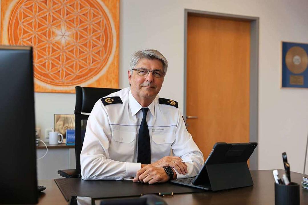 Polizeipräsident Reinhard Renter  | Foto: Polizeipräsidium