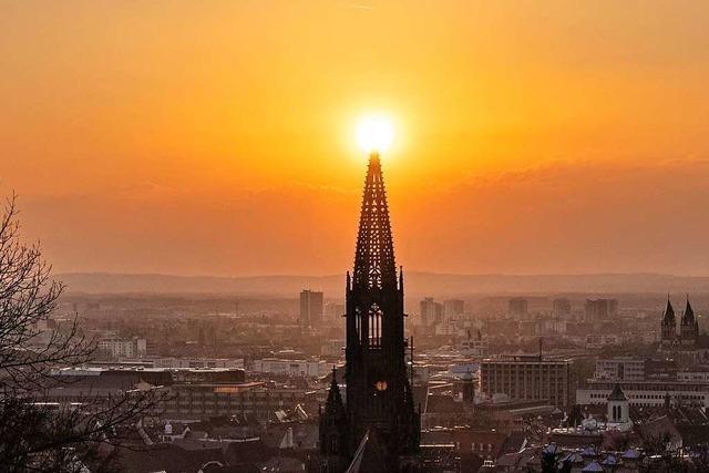 Das Freiburger Münster ist auch in den Zeiten von Corona wunderschön