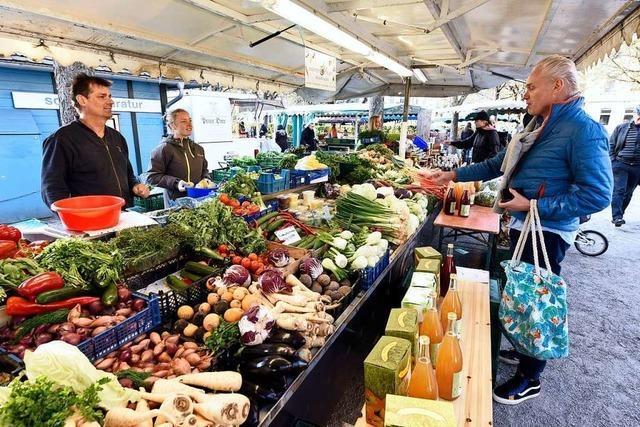 Die 20 Stadtteilmärkte in Freiburg machen trotz Corona weiter