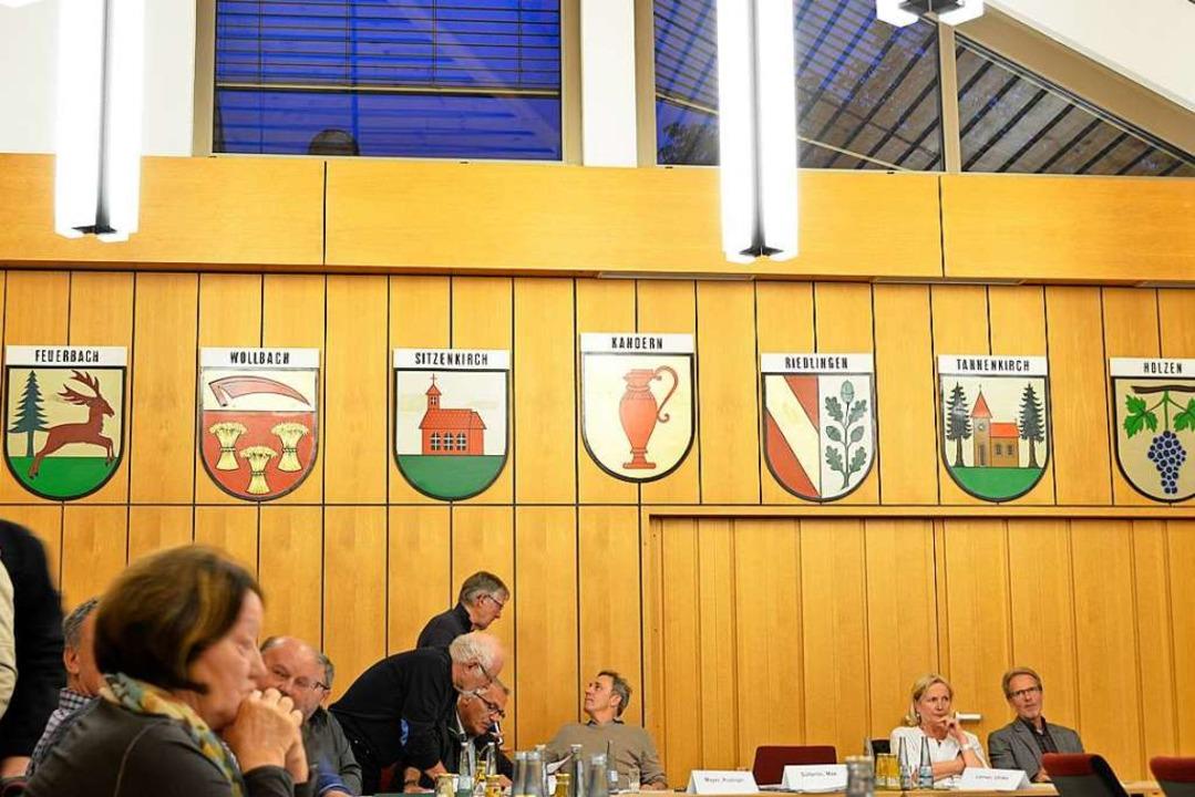 Im Kanderner  Gemeinderat (Archivbild ... haben zunehmend die Frauen das Sagen.    Foto: Moritz Lehmann