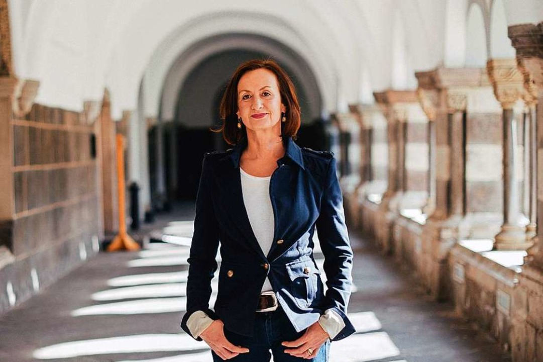 Irene Fischer kündigt an, künftig nicht mehr vor der Kamera zu stehen.    Foto: STEVEN MAHNER