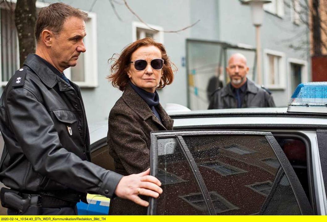 Mehrfach wurde Anna Ziegler in der Serie  verhaftet.    Foto: WDR