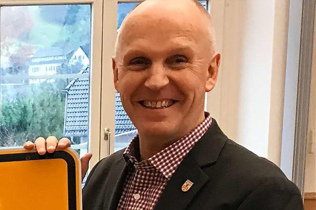 Bürgermeister Rüdiger Ahlers  | Foto: Gemeinde Münstertal