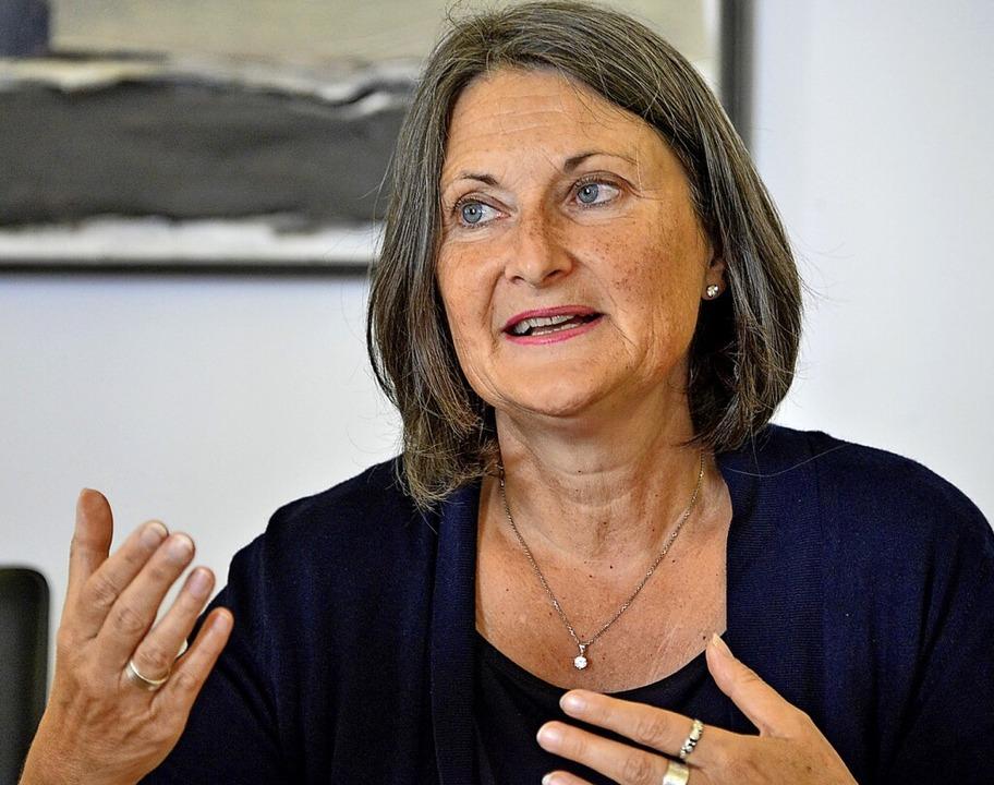 Regierungspräsidentin Bärbel Schäfer  | Foto: Michael Bamberger