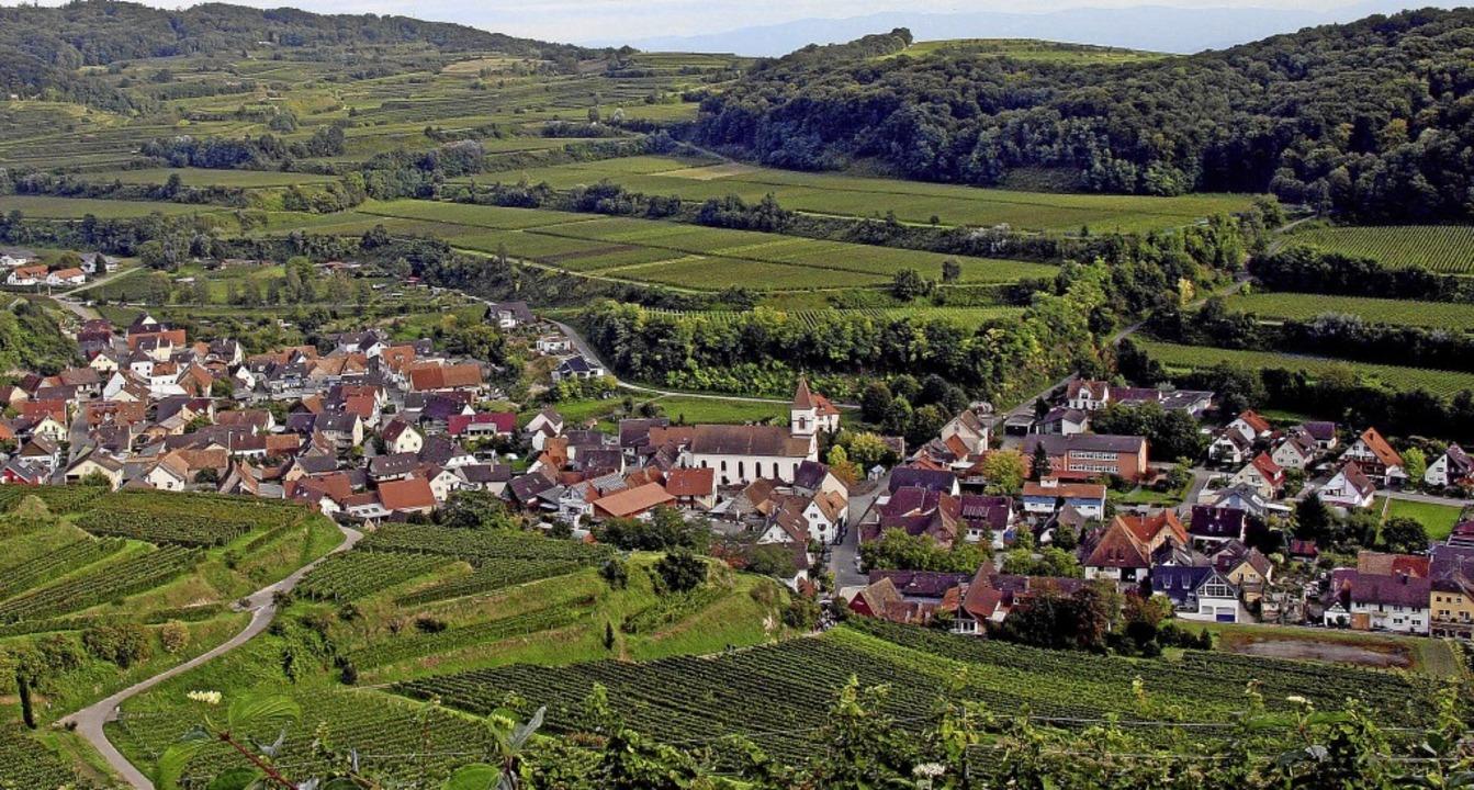 Das Weindorf Achkarren ist ein beliebt...ie Statistik des vergangenen Jahres.      Foto: Herbert Trogus