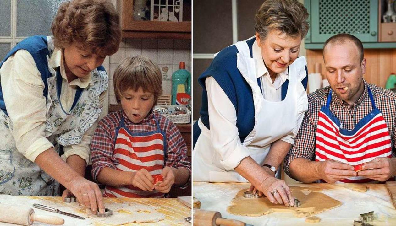 Exakt 27 Jahre liegen zwischen diesen ...Beimer. Links in Folge 4 im Jahr 1985.  | Foto: Steven Mahner (WDR)