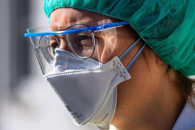 In den Kliniken des Landkreises Lörrach ist die Schutzausrüstung knapp