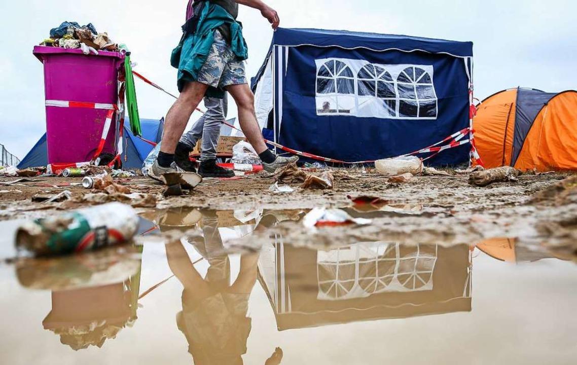 Das Southside-Festival in Neuhausen ob...ht. Kollidiert es nun mit einem Virus?  | Foto: Christoph Schmidt (dpa)