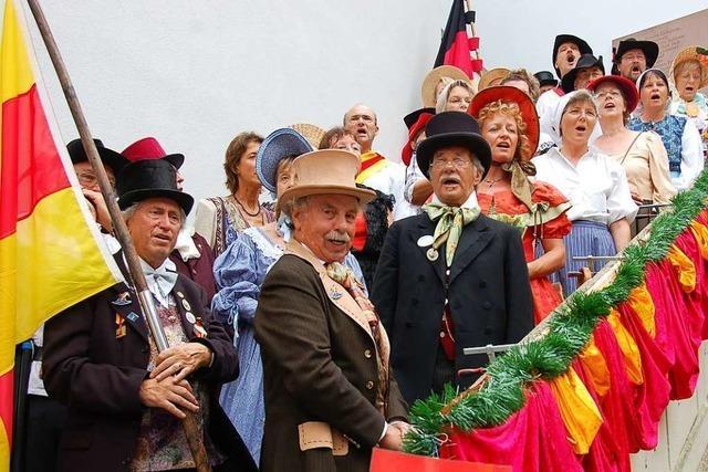 Heute große gemeinsame Aktion: Offenburg singt und klingt