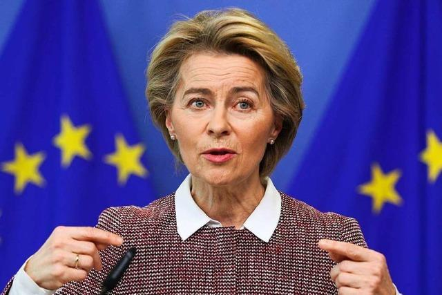 Von der Leyen: EU hat in der Corona-Krise