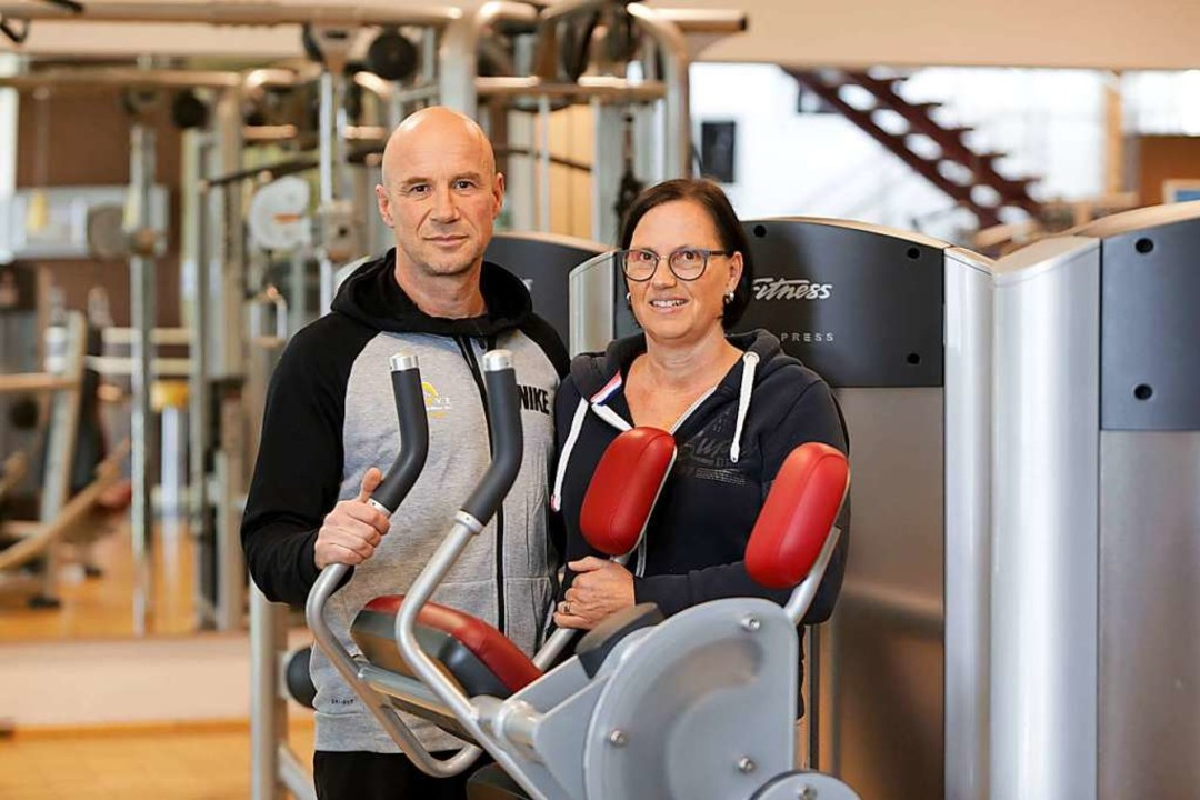 Matthias Geiger und Carmen Herbst  | Foto: Christoph Breithaupt