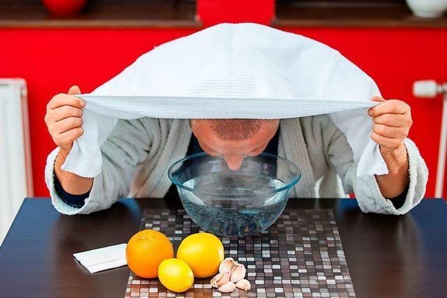 Diese Hausmittel verschaffen Linderung bei einer Erkältung