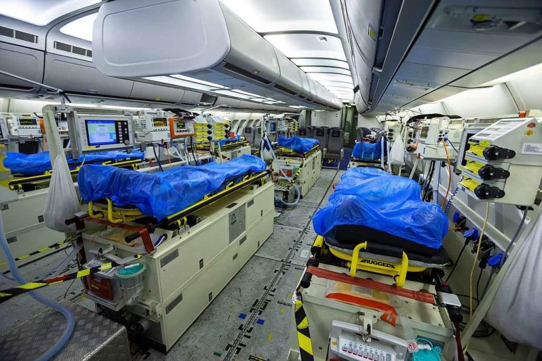 Hilfe für EU-Nachbarn: Bundeswehr fliegt Coronavirus-Patienten aus Italien ein