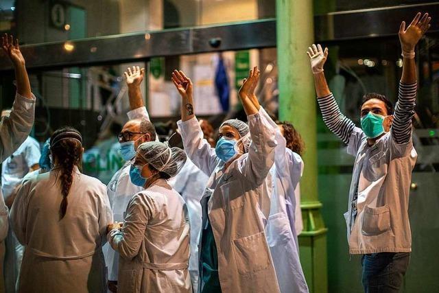 832 neue Corona-Tote in Spanien - trotzdem vorsichtiger Optimismus