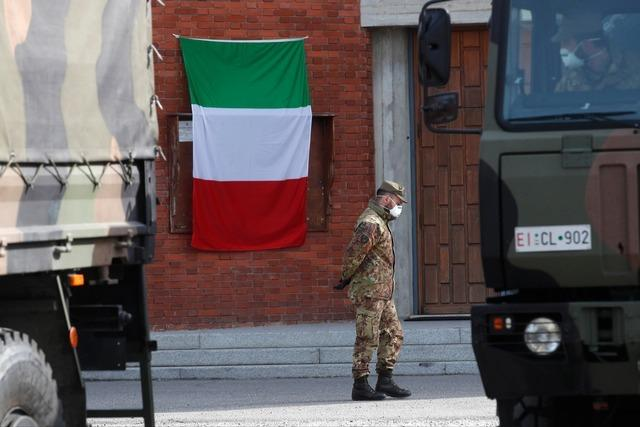 Newsblog: In Italien steigt die Zahl der Toten auf 10.023