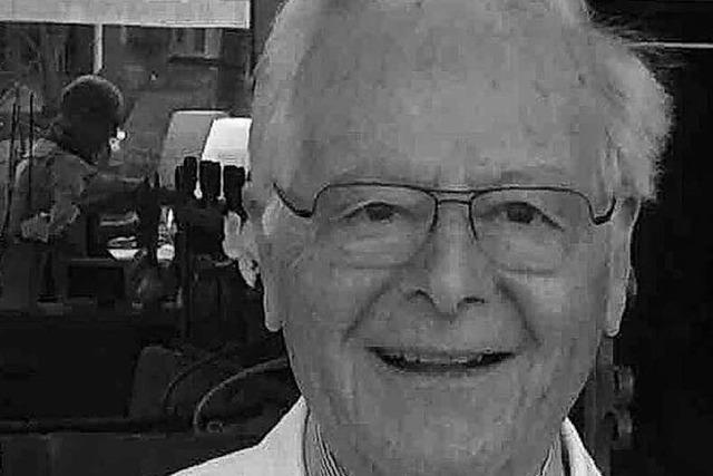 Hermann Decker, Gründer des Cafés Decker in Staufen, ist gestorben
