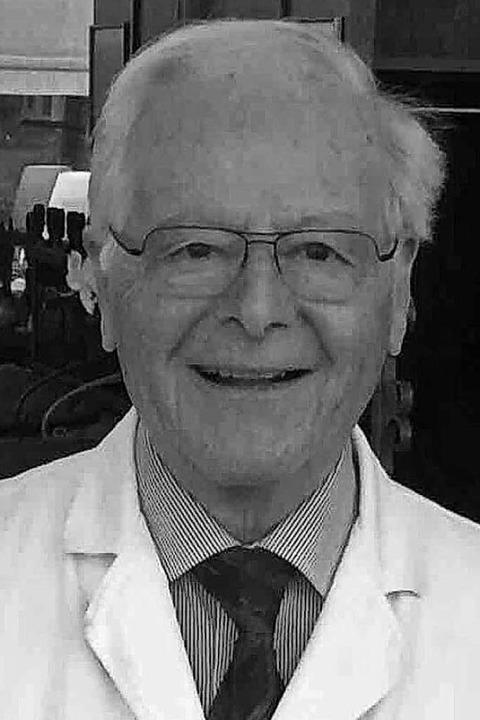 Hermann Decker ist im Alter von 85 Jahren gestorben.  | Foto: Familie Decker