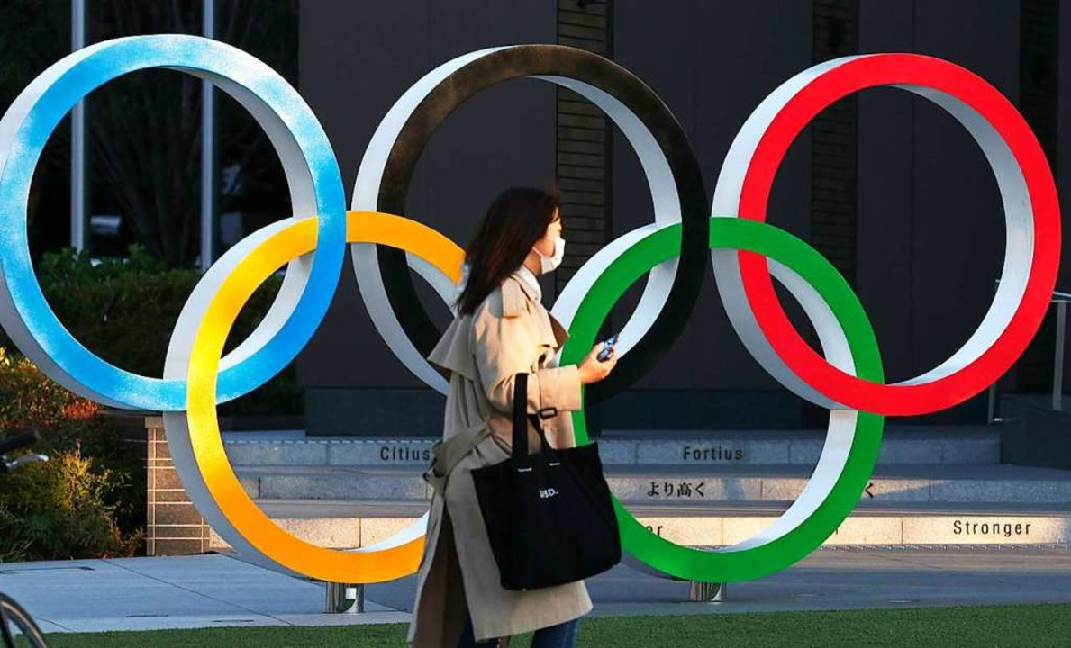 Nach Berichten aus Japan und den USA k...ermin für Olympia schon gefunden sein.  | Foto: - (dpa)