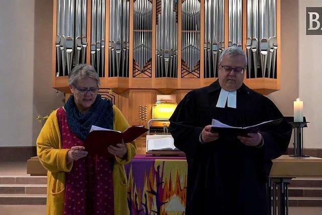 Evangelischer Online-Gottesdienst aus der Stadtkirche Schopfheim