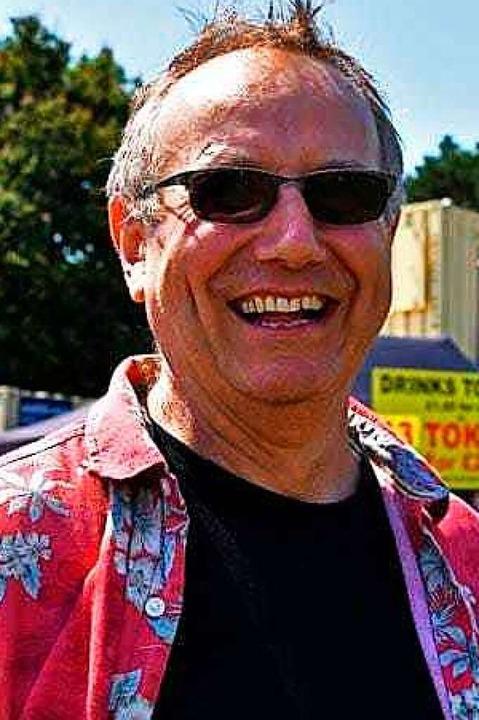 Musiker Chris Murray hat sein Ticket n...m wieder am Trottoirfest teilzunehmen.  | Foto: Danielle Hirschberger