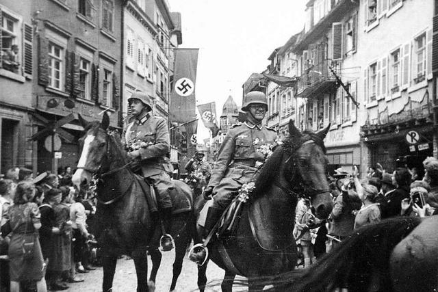 Als im Zweiten Weltkrieg in Sulz Soldaten einquartiert wurden