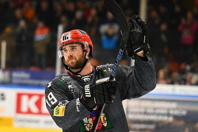 Top-Scorer Cam Spiro bleibt beim EHC Freiburg