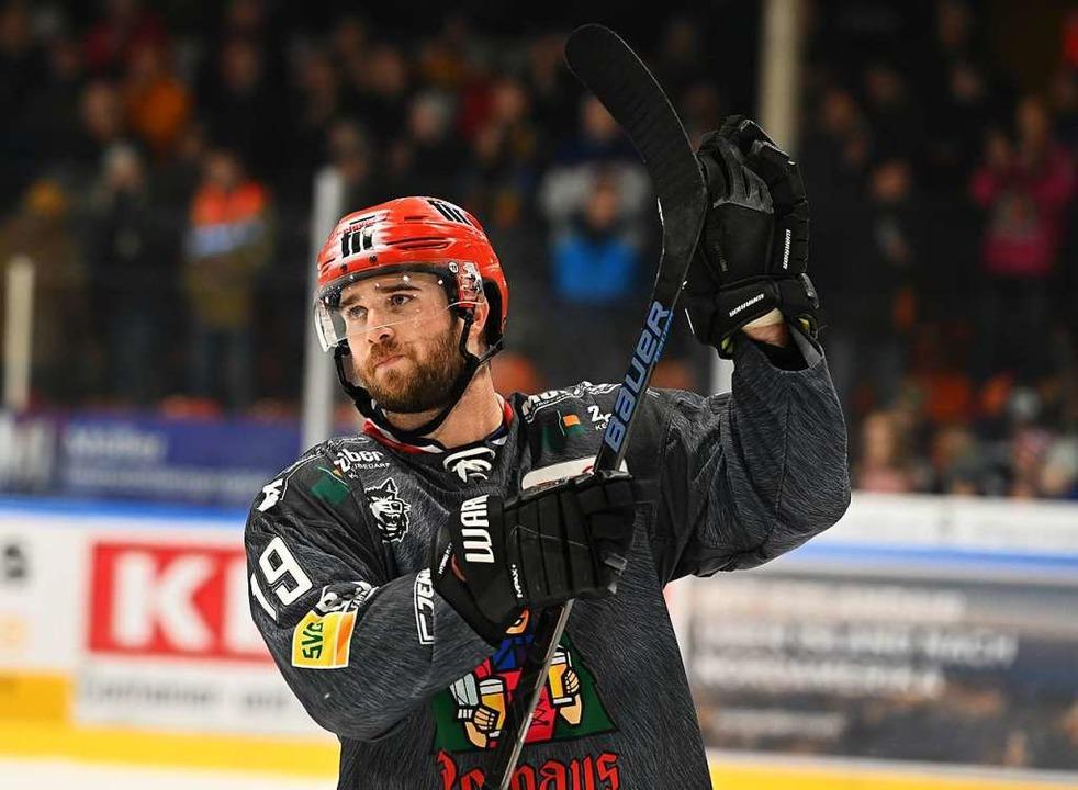 Cam Spiro bleibt beim EHC Freiburg.    Foto: Achim Keller