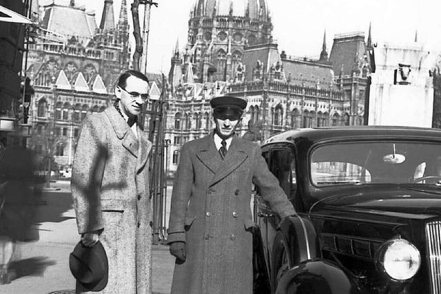 Der Schweizer Diplomat Carl Lutz hat Zehntausenden Juden das Leben gerettet