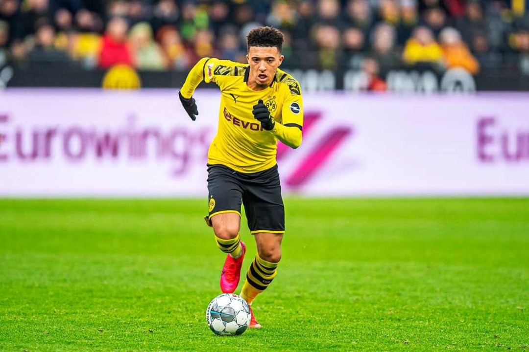 Jadon Sancho.  | Foto: David Inderlied (dpa)