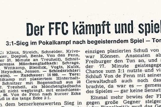 Als der Freiburger FC einen Hennes Weisweiler austrickste