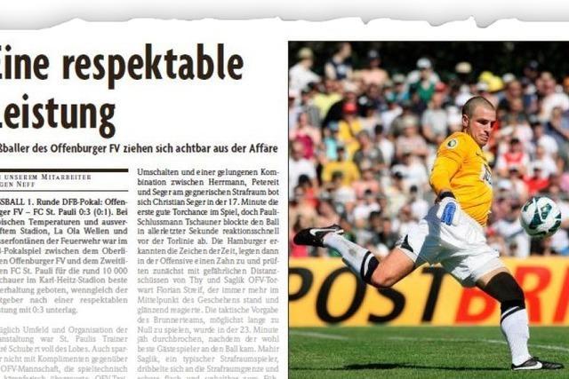 WIE WAR ES EIGENTLICH...: Als der FC St. Pauli zu Gast war