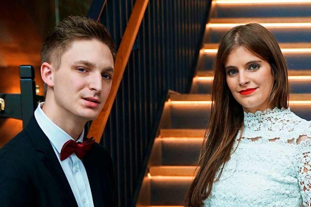Adrian Schaub und Melissa Zucano  | Foto: Stephan Ritter