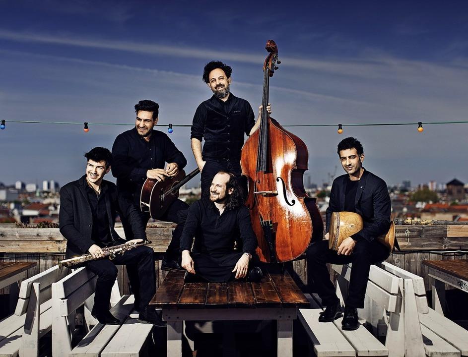 Die Band Sistanagila  | Foto: Nikolaj Lund