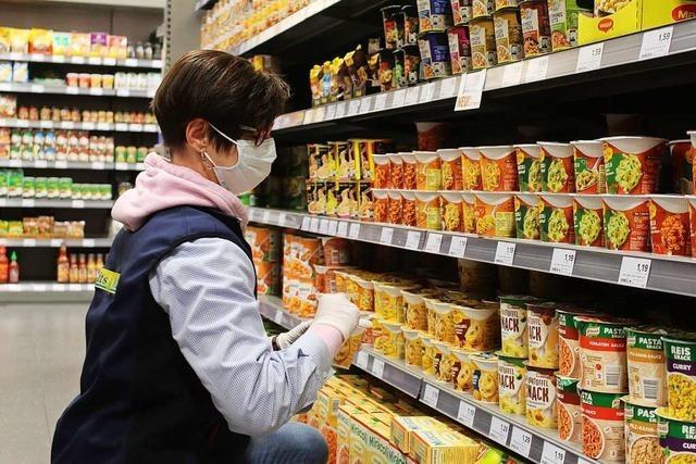 Umfangreiche Sicherheitsvorkehrungen in Zeller Einkaufsmarkt