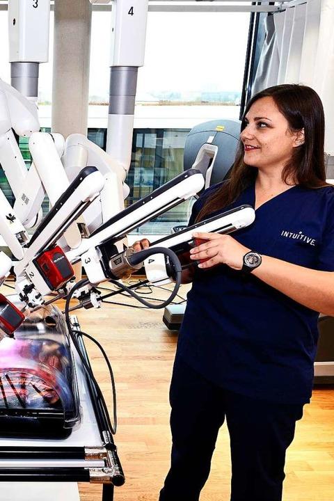 Intuitive Surgical baut robotor-assistierte Chirurgiesysteme  | Foto: Thomas Kunz
