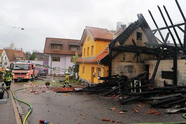 Bei Bränden in Bad Krozingen und Staufen sind technische Ursachen nahezu ausgeschlossen
