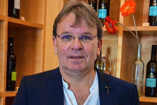 Heinrich Stefan Männle führt die Winzergenossenschaft Pfaffenweiler seit 25 Jahren