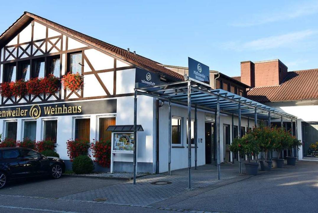 Das Gebäude der Winzergenossenschaft in Pfaffenweiler.  | Foto: Andrea Gallien